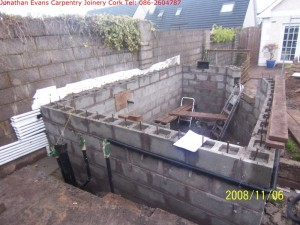 General Building Services Cork with Jonathan Evans Carpentry Joinery Tel: 086-2604787