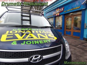 Commercial Maintenance Solutions Cork with Jonathan Evans Carpentry Joinery Tel: 086-2604787