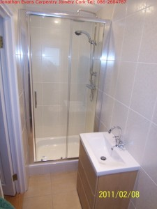 Plumbing Tiling Cork with Jonathan Evans Carpentry Joinery Tel: 086-2604787