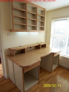 Home Office Furniture Cork with Jonathan Evans Carpentry Joinery Tel: 086-2604787