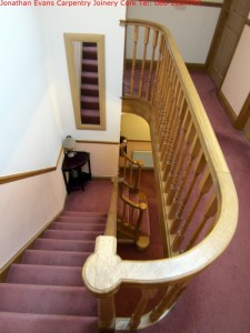 Stairs and Staircases Cork with Jonathan Evans Carpentry Joinery Tel: 086-2604787