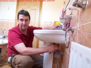 Bathroom En-suite Refurbishments with Jonathan Evans Carpentry Joinery Tel: 086-2604787