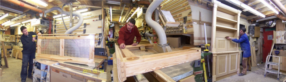 Carpentry Joinery Cork with Jonathan Evans Master Guild of Craftsmen member
