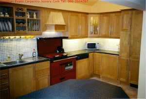 Kitchens Cork with Jonathan Evans Carpentry Joinery Tel: 086-2604787